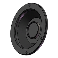 C Lens Mount for UHS (VXXXX), V-series (VXXX) and Flex2K cameras